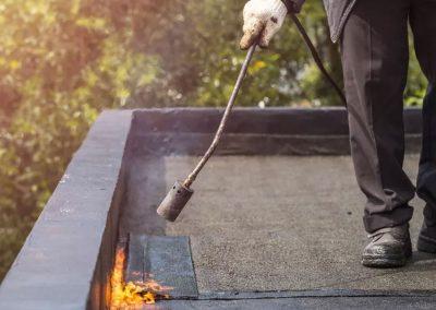 Bitumen dakbedekking almere